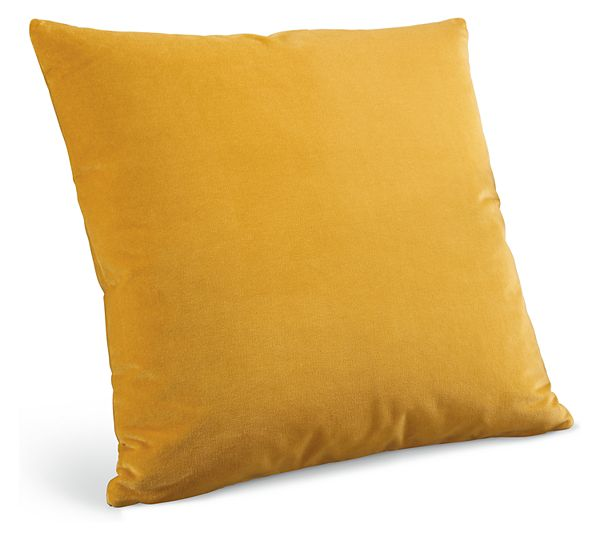 Yellow Gold Modern Throw Pillows