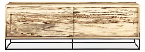 Steen 72w 16d 24h Two-Door Media Cabinet