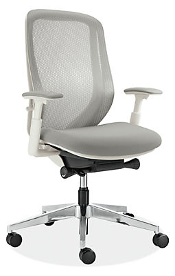 sylphy office chairs in white - modern office chairs & task chairs