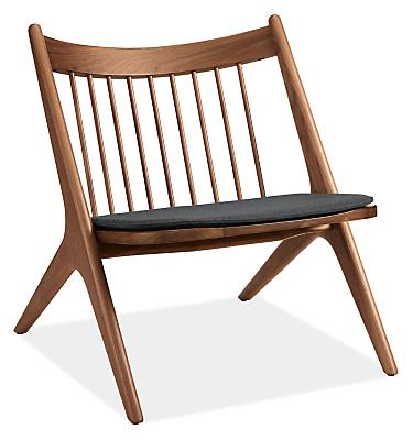 Oskar Seat Cushion for Armless Lounge Chair