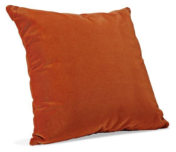 Orange Modern Throw Pillows