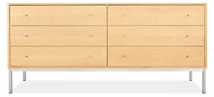 Delano 72w 20d 33h Six-Drawer Dresser