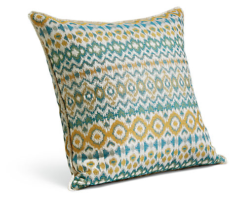 Mural 20w 20h Throw Pillow