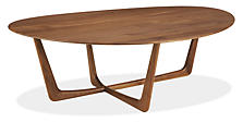 Dunn 47w 33d 15h Cocktail Table in Walnut