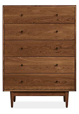 Grove 37w 20d 50h Five-Drawer Dresser