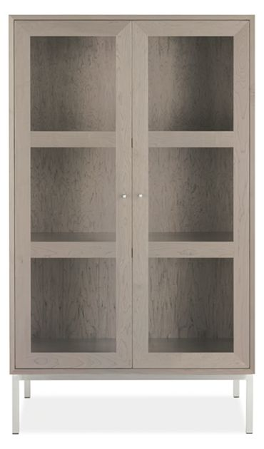 Delano Glass Door Cabinet