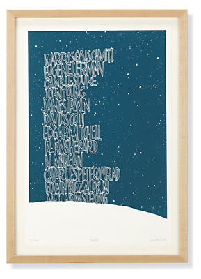 KleinReid, Moon, 2013, Limited Edition Silkscreen