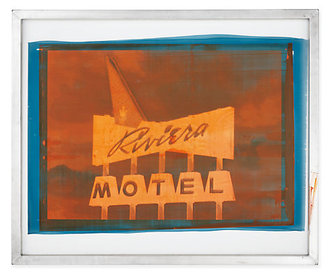 Riviera Motel Screen Art