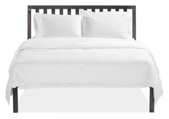 Webster Natural Steel Bed Modern Beds Platform Beds Modern