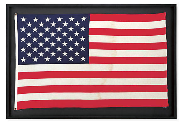 Vintage American Flag Wall Art vintage, united states flag - limited edition & vintage wall art