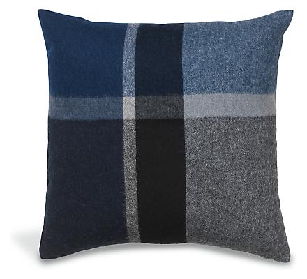 Horizon 20w 20h Plaid Throw Pillow