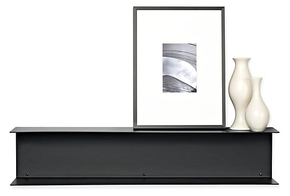 Staple 35w 6d 7h Double Wall Shelf