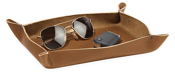 Brando 10w 7d 1.5h Leather Valet Tray