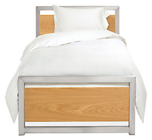 Piper Twin Bed with Wood Panels