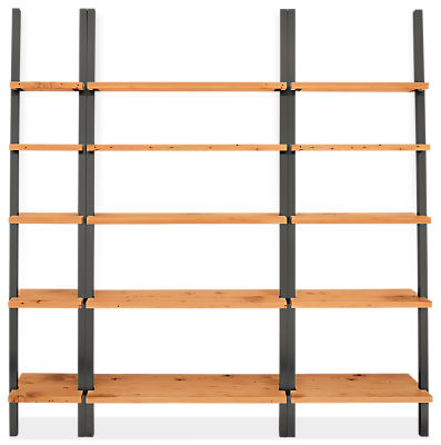 Gallery 82w 14d 85h Leaning Shelf Wall Unit