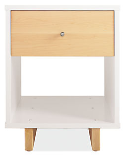 Moda 18w 19d 22h One-Drawer Nightstand