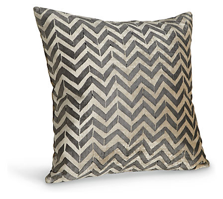 Herringbone 18w 18h Throw Pillow