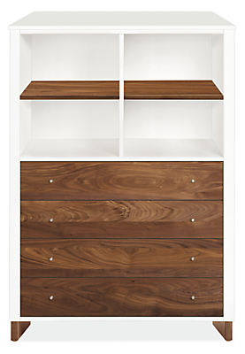 Moda Loft 42w 19d 58h Four-Drawer Dresser
