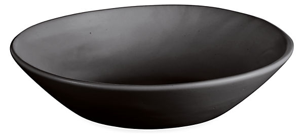 Anya 9.5 diam Bowl in Black