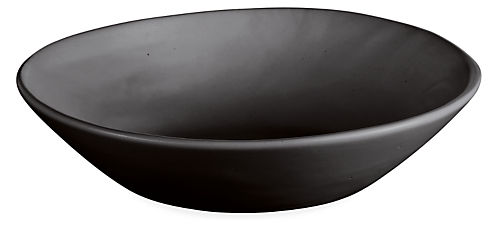 Anya 9.5 diam Bowl in Black