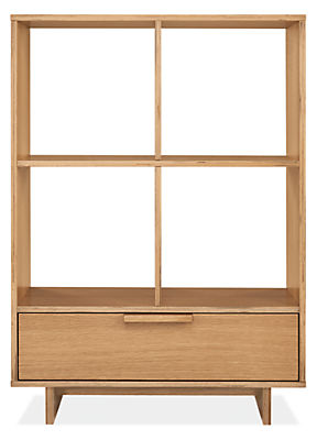 Ashby 34w 16d 47h One-Drawer Storage Cubby
