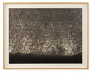 Ayomi Yoshida, Rain, Rain, Rain, 2019, Limited Edition Woodblock Print