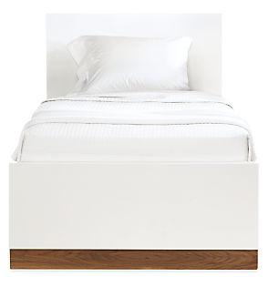 Moda Twin Bed with Low Footboard