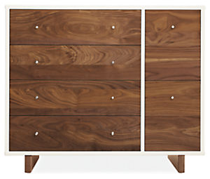 Moda 40w 19d 34h Six-Drawer Dresser