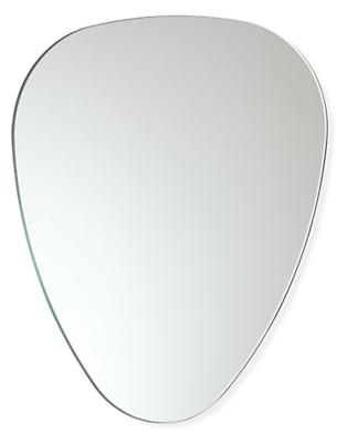 Gaze Shield-Shaped Mirror
