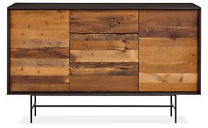 McKean 60w 18d 36h Reclaimed Wood Storage Cabinet