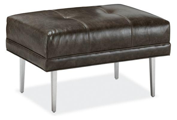 Modern Ottomans U0026 Footstools   Modern Living Room Furniture   Room U0026 Board