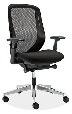 sylphy office chairs in black - modern office chairs & task chairs