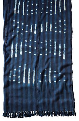 Gouro Vintage African Textile Throw