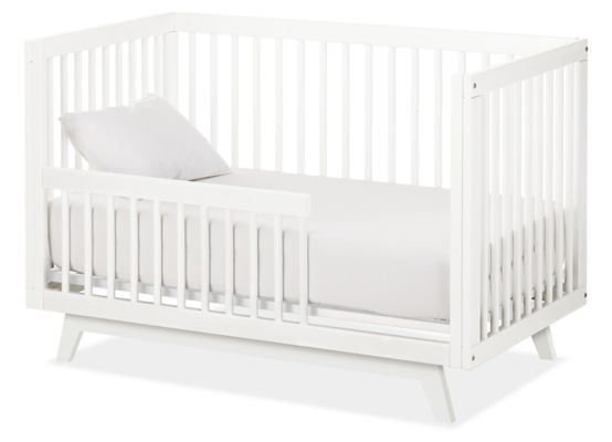 Flynn Crib to Toddler Bed Modern Cribs Changing Trays Modern
