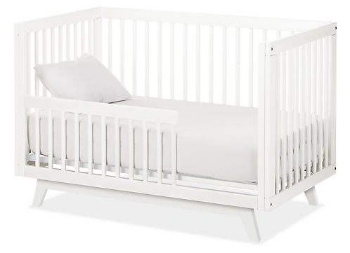 Flynn Crib to Toddler Bed - Modern Cribs & Changing Trays - Modern ...