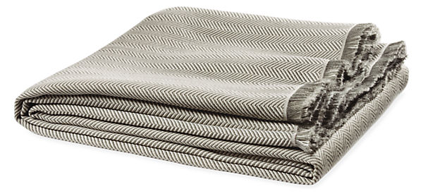 Zander Herringbone Throw