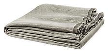 Zander Herringbone Throw in Grey