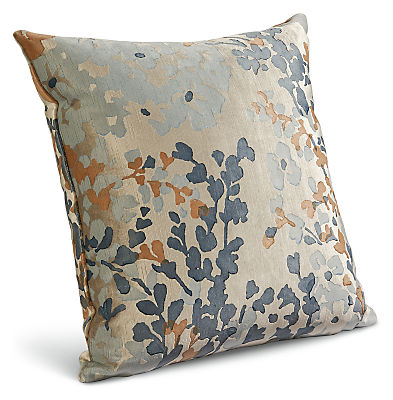 Fleur 18w 18h Throw Pillow