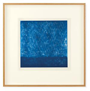 Ayomi Yoshida, After Rain Comes Fair Weather, 2019, Ltd Ed Woodblock Print