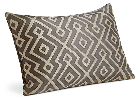 Woodhall 20w 13h Throw Pillow Black