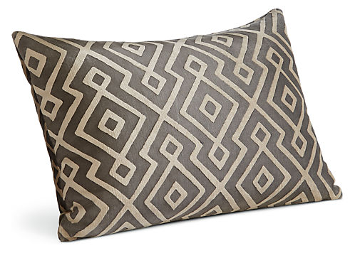 Woodhall 20w 13h Throw Pillow Black