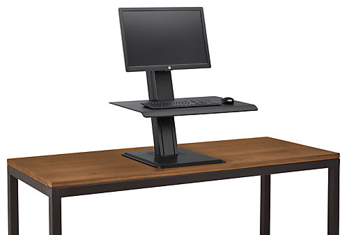 QuickStand Eco Single Monitor Adjustable Work Station