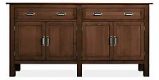 Bennett 72w 16d 36h Storage Cabinet in Mocha