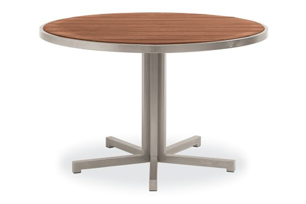 Montego Round Outdoor Dining Tables Modern Outdoor Dining Bar