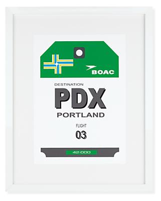 Portland Destination Tag, PDX