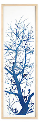 Ayomi Yoshida, Buds Come Out, 2016, Limited Edition Woodblock Print