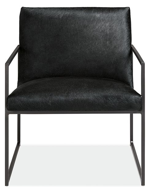 Novato Chair in Cowhide