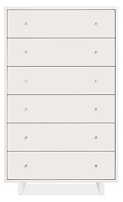 Moda 33w 19d 54h Six-Drawer Dresser