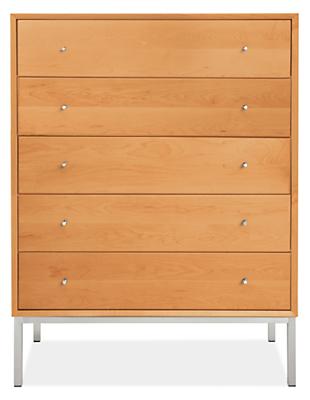 Delano 37w 20d 48h Five-Drawer Dresser