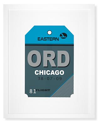 Chicago Destination Tag, ORD